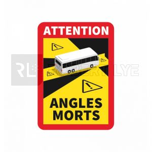 Signalisation angles morts pour BUS