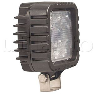 Phare de travail carré 8 leds - 10/50 Volts - L 106 x H 138 x Ep 67 mm - IP67