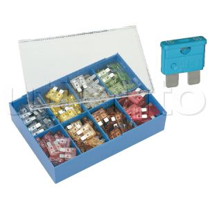 Coffret assortiment de 160 fusibles UNIVERSELS