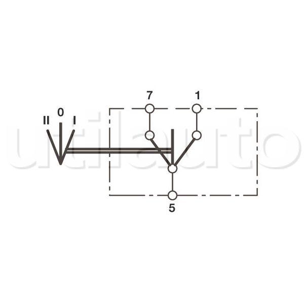 interrupteur 3 positions i 0 ii inverseur robert lye. Black Bedroom Furniture Sets. Home Design Ideas