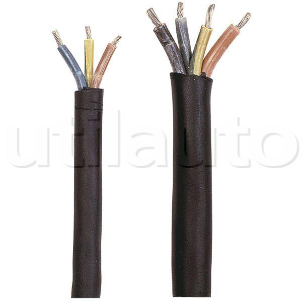 Câble Multiconducteur Ho5Vvf - Câble Avec Gaine Extérieure Noire