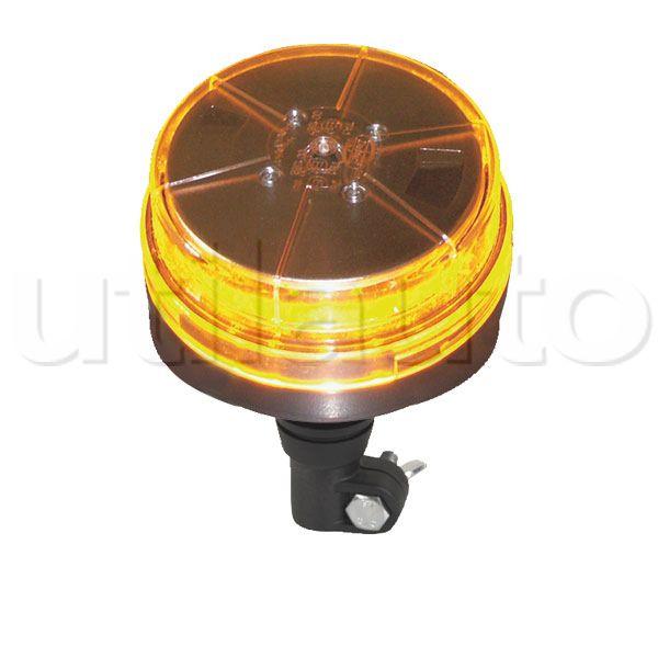 gyrophare orange ou bleu 12 leds sur tige 10 30 volts robert lye. Black Bedroom Furniture Sets. Home Design Ideas