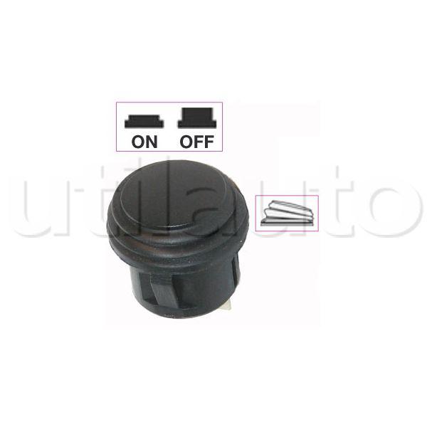 Interrupteur contacteur bouton poussoir noir on off robert lye - Interrupteur bouton poussoir ...